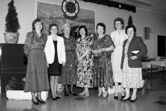 Federation of Business and Professional women. Chatteris Branch. From the Stuart Stacey Collection.