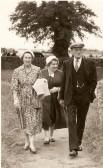 Ted & Annie Bishop with Flo Bishop