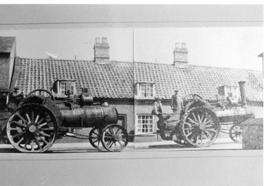 Powered Machinery- Steam Engine.   Stuart Stacey Collection