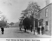 Chatteris Post Office,Park Street - Stuart Stacey Collection