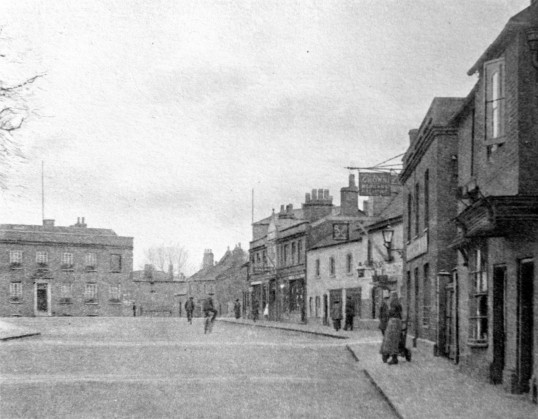 Market Hill, Chatteris. - the Stuart Stacey Collection