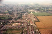 Aerial  Views over Chatteris -The south. Photographed by Stuart Stacey
