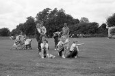 Families enjoying the Chatteris Festival , Wenny Recreation Ground- Stuart Stacey Collection
