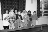 Young children  with their parents- Stuart Stacey Collection