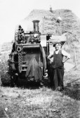 Steam Thresher - Stuart Stacey Collection