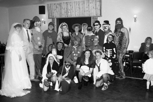 Mixed Group  in fancy dress-Stuart Stacey Collection