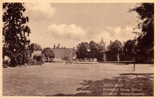Westwood House School Tennis courts