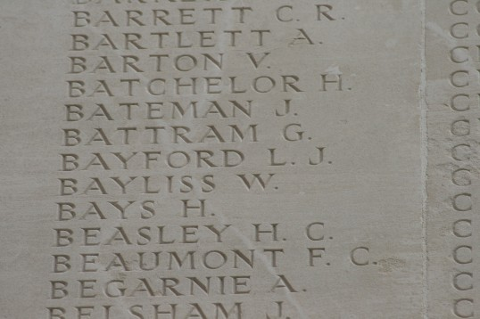 Chatteris WW1 Soldier Harry Bays (3/6753). Chatteris Remembers Biography