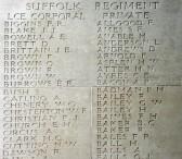 Chatteris WW1 Soldier L/Cpl Stanley Bush (3/9328). Chatteris Remembers Biography