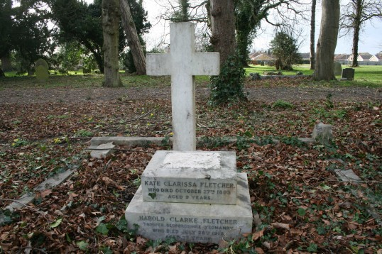 The Grave of Chatteris WW1 Soldier, Harold Clarke Fletcher- Chatteris Remembers Biography