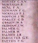 Chatteris WW1 Soldier George Palmer's Name On The Menin Gate