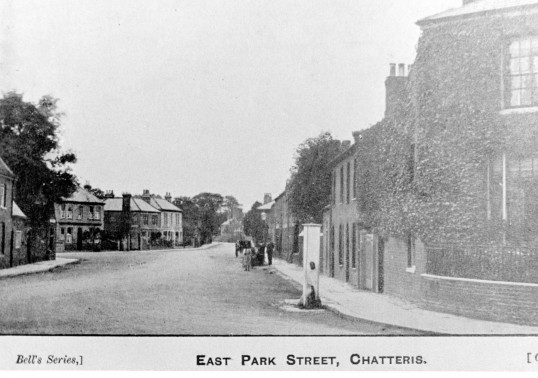 Past Photograph of East Park Street, Chatteris. Stuart Stacey Collection