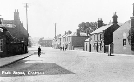 Park Street, Chatteris. Stuart Stacey Collection.
