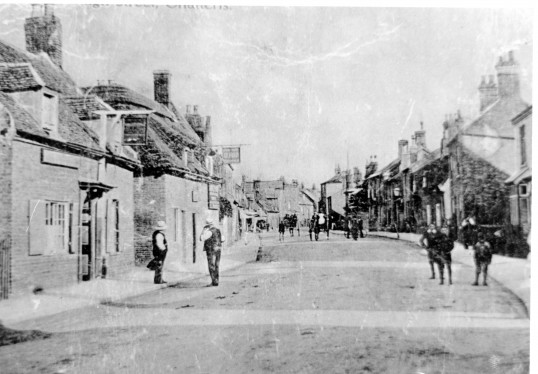 High Street in Chatteris,  Stuart Stacey Collection