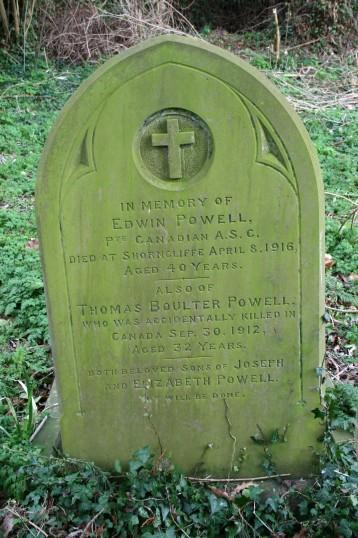 Chatteris WW1 Soldier Edwin Powell (3140). Chatteris Remembers Biography