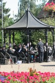 Chatteris Town Band Perform Concert in The Band Stand August 2012