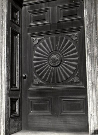 Chatteris House - Front door