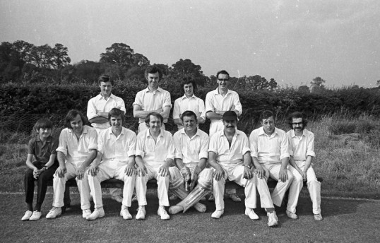 Chatteris Cricket Team-Stuart Stacey Collection