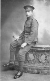 Chatteris WW1 Soldier Horace Hills 15321. Chatteris Remembers Biography