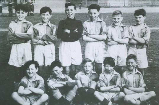 Cromwell 1st year Football team