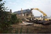 Demolition of Cyril Haigh Potato warehouse