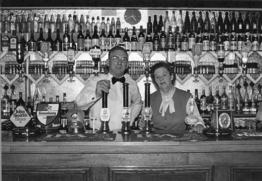 Stuart Stacey Collection; Honest John bar