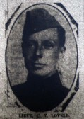 Chatteris WW1 Soldier Cyril Thomas Lovell. Chatteris Remembers Biography