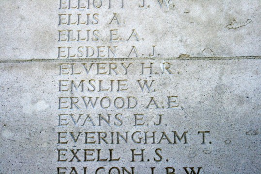 Chatteris WW1 Soldier Alfred James Elsden (88892). Chatteris Remembers Biography