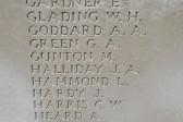 Chatteris WW1 Soldier Matthew Gunton 201695. Chatteris Remembers Biography