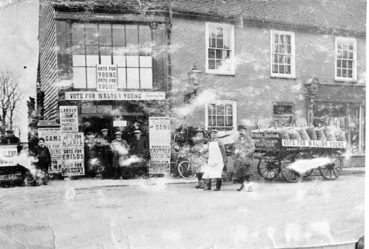 High Street, Chatteris. Stuart Stacey Collection.