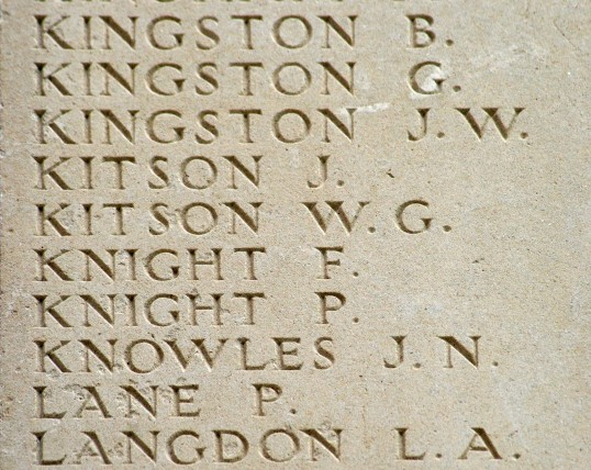 Chatteris WW1 Soldier John Norman Knowles (43369) Chatteris Remembers Biography