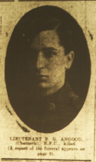 Chatteris WW1 Soldier Percival Angood. Chatteris Remembers Biography