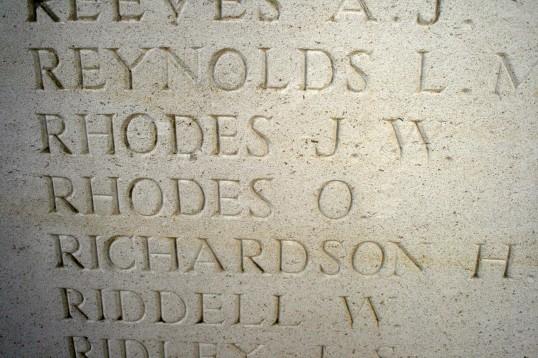 Chatteris WW1 Soldier Oakey Rhodes 65755. Chatteris Remembers Biography