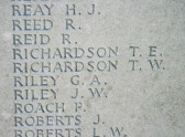 Chatteris WW1 Soldier Thomas Richardson 242491. Chatteris Remembers Biography