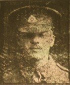 Chatteris WW1 Soldier George Sneesby 17947. Chatteris Remembers Biography