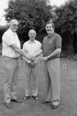 Croquet/Bowls club members at Wood Street Chatteris- Stuart Stacey Collection