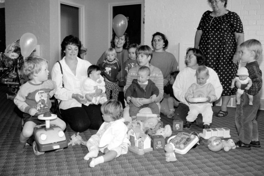 Mothers enjoy playtime withToddlers & Babies  in Chatteris-Stuart Stacey Collection