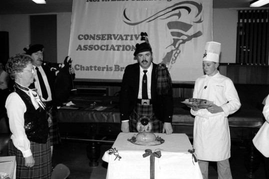 Burns night celebrated at Chatteris Conservative Association-Stuart Stacey Collection