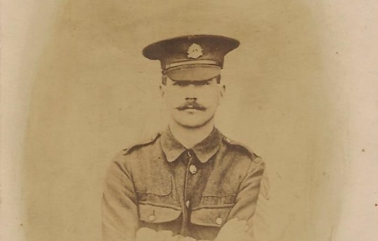 Chatteris WW1 Soldier Fred Papworth 9123. Chatteris Remembers Biography