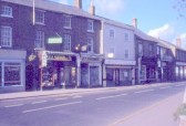 High Street, Chatteris. Skinners chemists and vacated Goodmans greengrocers can be seen. Photo courtesy of R.Edwards