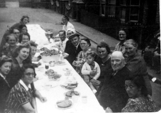 Street party, Chatteris. Stuart Stacey collection