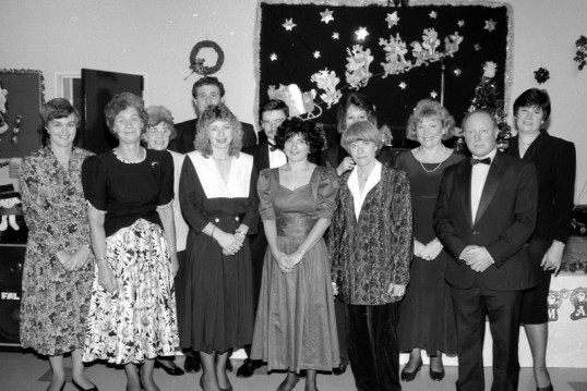 Christmas Get together. Stuart Stacey collection.