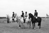 Horse riders  at Gymkhana-Stuart Stacey Collection