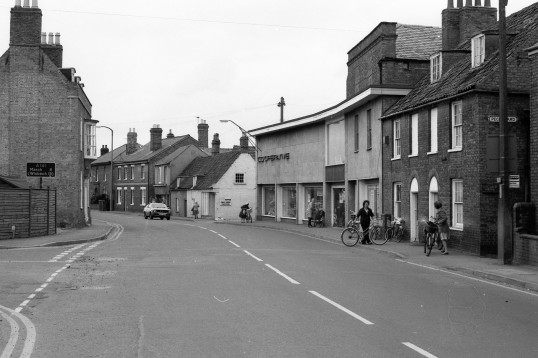 Co-op shop  in High Street Chatteris -Stuart Stacey Collection