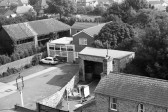 Aerial view of Chatteris-Stuart Stacey Collection
