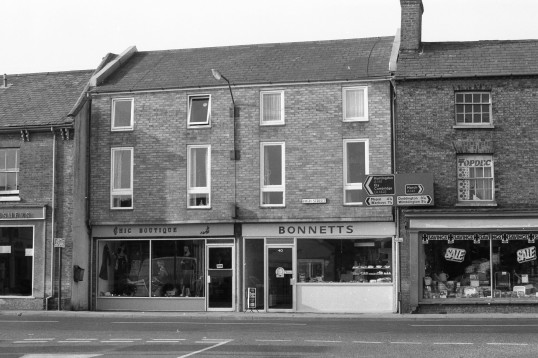 Chic Boutique, Bonnetts Bakery &  Gowlers Ironmogers in High Street, Chatteris-Stuart Stacey Collection