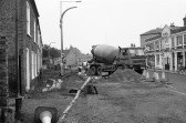 Road works in Market Hill Chatteris-Stuart Stacey Collection