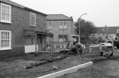 Road works in Market Hill,Chatteris-Stuart Stacey Collection