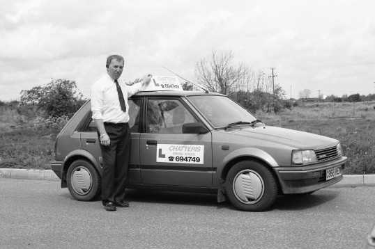 Chatteris Driving school vehicle-Stuart Stacey Collection