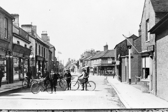 High Street Chatteris -Stuart Stacey Collection